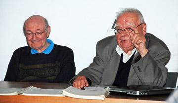 Hugo Poppe en Lucien Landuyt