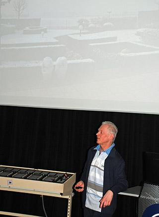Rudi Peetermans met zijn foto-reportage